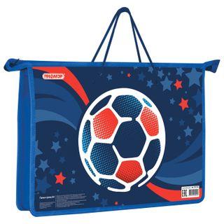 The zip folder with handles PYTHAGORAS A4, 1 compartment, plastic, zipper top,