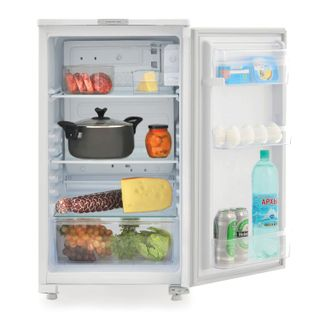 SARATOV refrigerator 550 KS-122/0, total volume 122 liters, no freezer, 87.5x48x59 cm, white