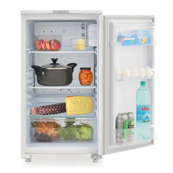 SARATOV refrigerator 550 KS-122/0, total volume 122 liters, no freezer, 87.5x48x59 cm, white