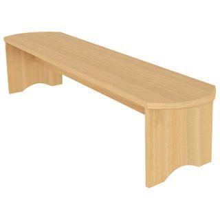 Children's bench, 1000 x250 x250 mm, LDSP, color beech Bavaria