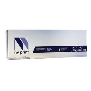 Laser cartridge NV PRINT (NV-718Y) for CANON LBP7200Cdn / MF8330Cdn / 8350Cdn, yellow, yield 2900 pages.