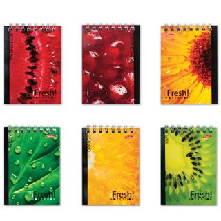 Small FORMAT Notebook (65x100 mm) A7, 40 sheets, comb, cardboard, cage, HATBER,