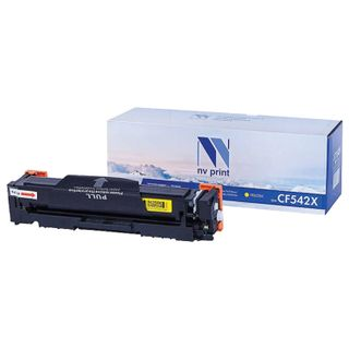 Toner Cartridge NV PRINT (NV-CF542X) for HP M254dw / M254nw / MFP M280nw / M281fdw, yellow, yield 2500 pages