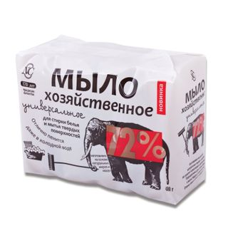 Soap economic 72% MUST 4 pieces x 100 g (Nevsky Cosmetics), in packaging