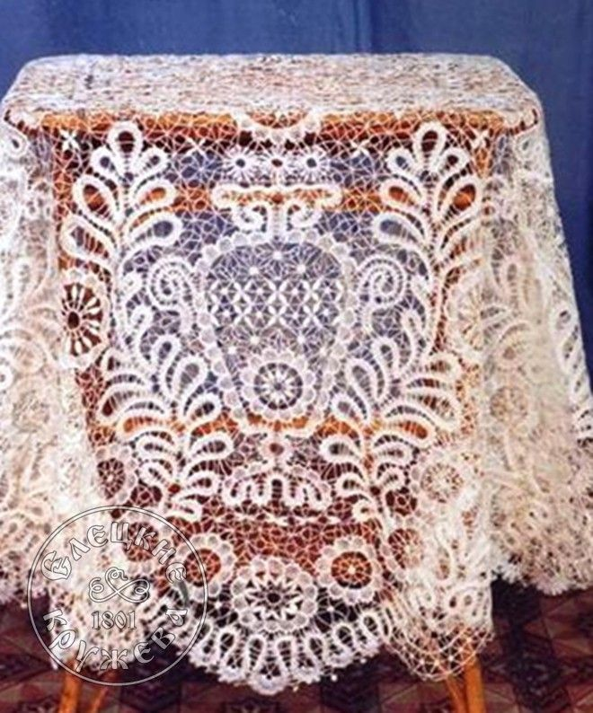 Yelets lace / Lace tablecloth 60-94