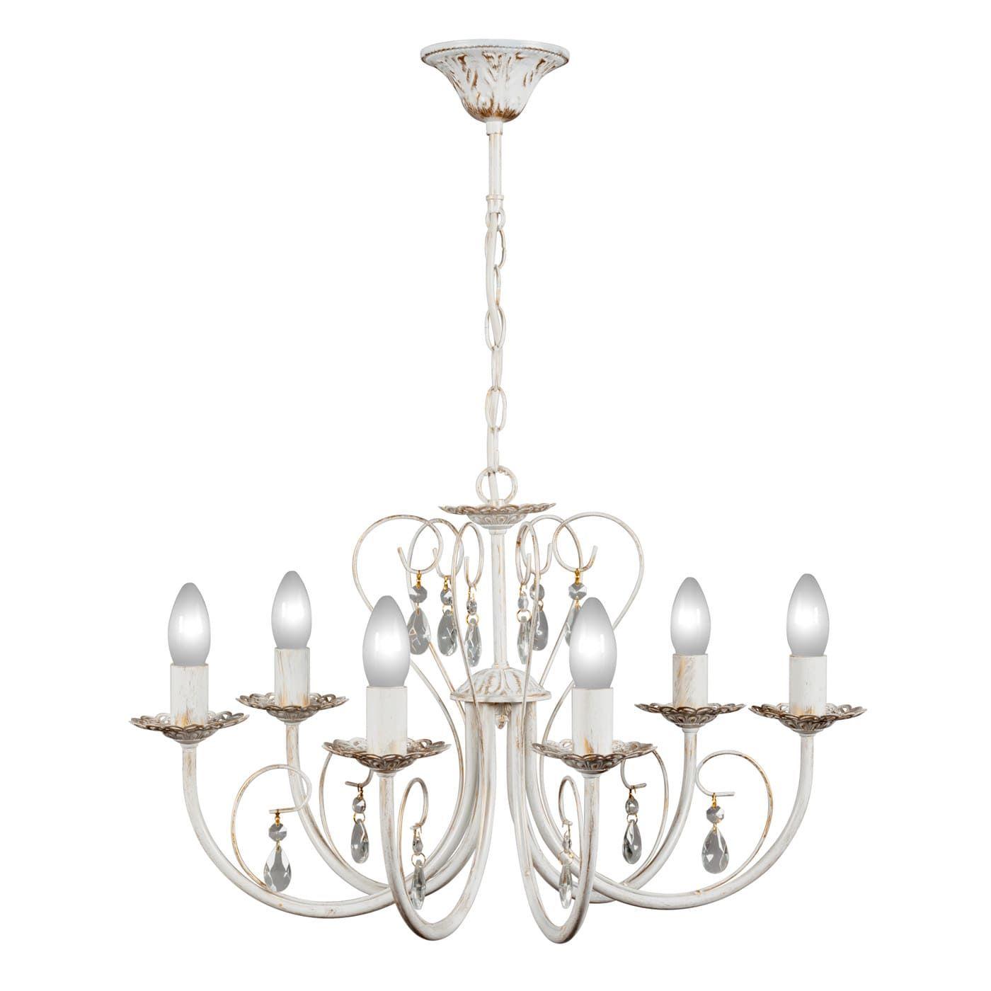 PETRASVET / Pendant chandelier S1022-6, 6xE14 max. 60W