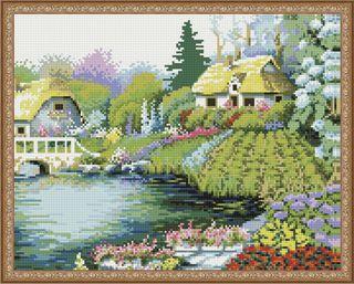 Diamond mosaic Khutorok 40x50 cm