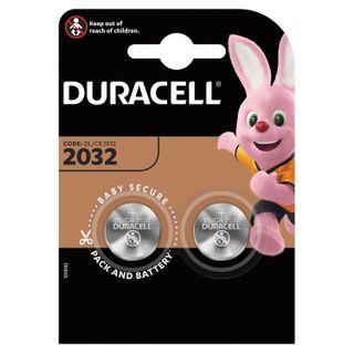 DURACELL / Lithium CR2032 Lithium Batteries, KIT 2 pcs. in blister