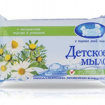 """Children's toilet soap for sensitive and problematic skin """"A series and chamomile"""", 90 gr."""