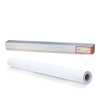 Roll for plotter (canvas), 1067 mm x 10 m x 50.8 mm bushing, 300 g/m2, the texture of linen fabric, LOMOND