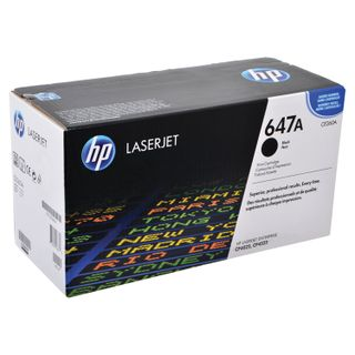 HP ColorLaserJet CP4025 / 4525 Black Original Toner Cartridge (CE260A), Yield 8500 pages