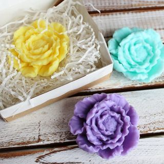 Handmade soap Flower - mix of colors