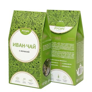"Ivan-tea ""RUSICH"", leaf with lemon balm, 50 g"