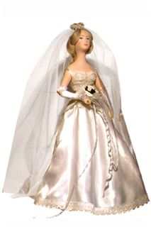 Doll gift. Bride. In tandem with the Groom (1522)