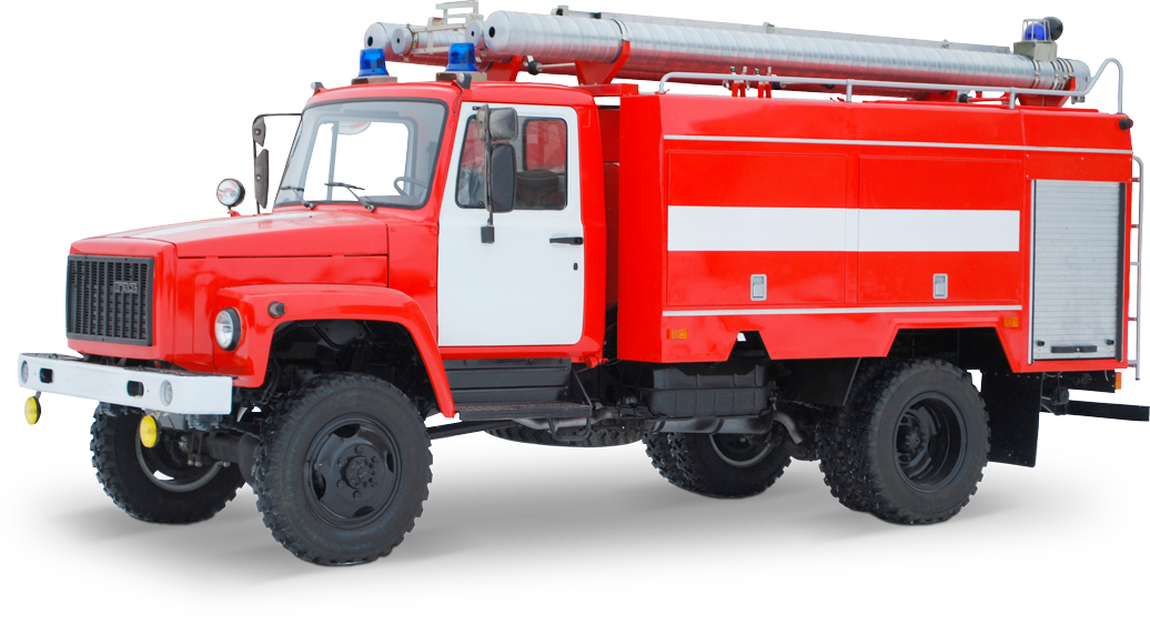 Tank truck fire-fighting AC 3 40 GAZ-33086