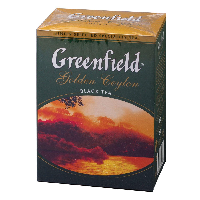"GREENFIELD / Tea ""Golden Ceylon OPA"" black, leaf, 100 g"