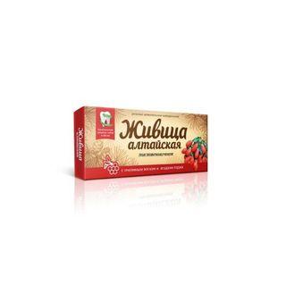 "Natural chewing gum ""Zhivitsa"" Altai ""with beeswax and goji berries"""