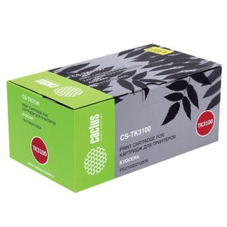 Toner cartridge CACTUS (CS-TK3100) for KYOCERA FS-2100D / DN / M3040DN / M3540DN, yield 12,500 pages