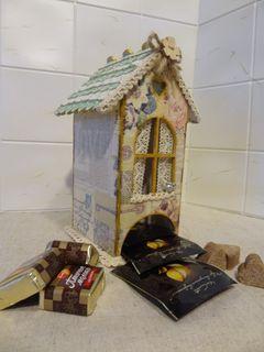 Tea house with a fence