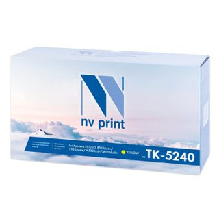 Toner cartridge NV PRINT (NV-TK-5240Y) for KYOCERA ECOSYS P5026cdn / w / M5526cdn, yellow, yield 3000 pages