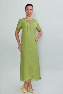 Dress womens linen 9-157