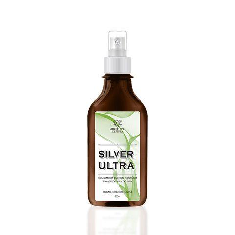 "Institute of Silver / Colloidal silver solution ""SILVER ULTRA"" 250 ml"