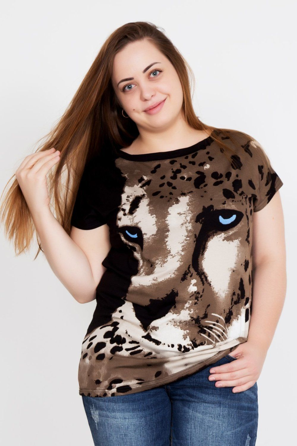 Lika Dress / Blouse Leopard Art. 2345
