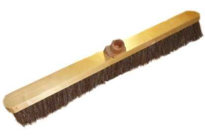 """Torzhok enterprise of brush products / Sweeping brush """"Metro"""" made of natural horsehair 600 mm"""