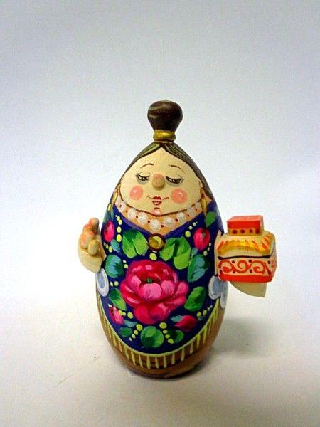 """Tver souvenirs / Casket """"Merchant's wife"""""""