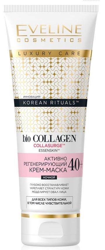 Actively regenerating cream night 40+ series korean ritualstm, Eveline, 50 ml