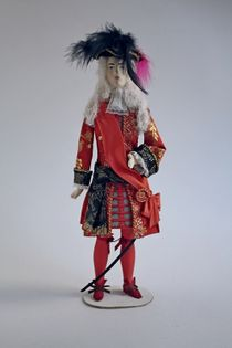 Doll gift. Theatrical costume for the excise by Leon Bakst.