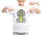 Children's t-shirt with special effects GIRAFFE