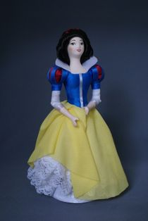 Doll gift. Snow white