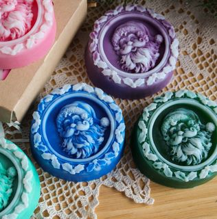 Soap New Year's souvenir Christmas mix of flowers and aromas