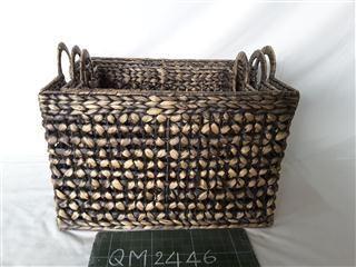 Basket of wicker, 3 pcs