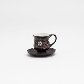 "Decorative vase ""joy"" ceramic painted series ""wildflowers"""