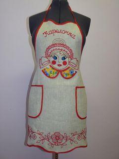 Apron female Karelochka Karelian patterns