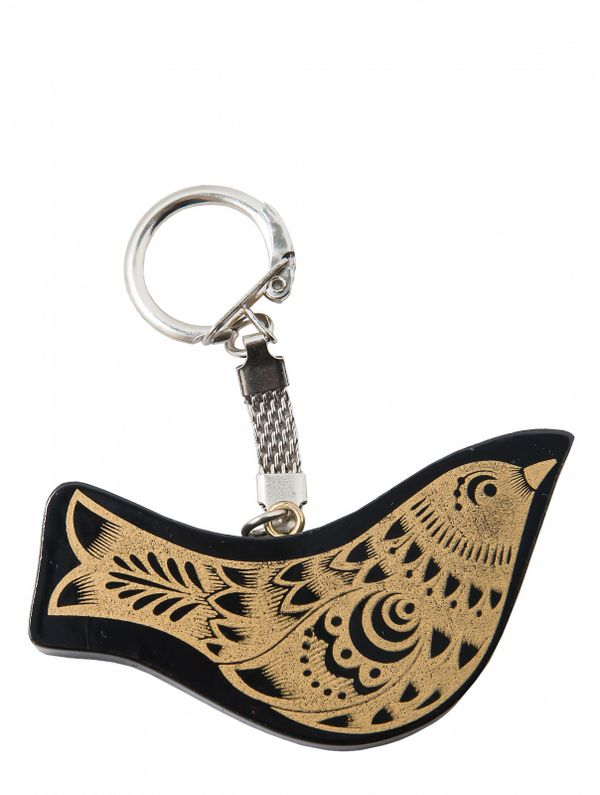 Keychain wooden 'Bird'