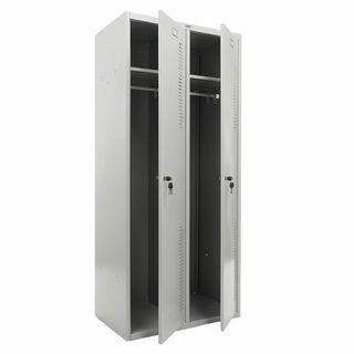 Metal cabinet for clothes PRAKTIK
