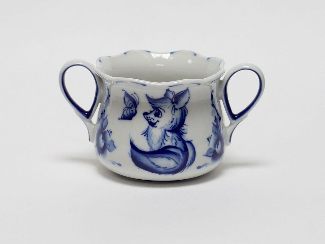 Dulevo porcelain / Children's set Chanterelle (3 items)