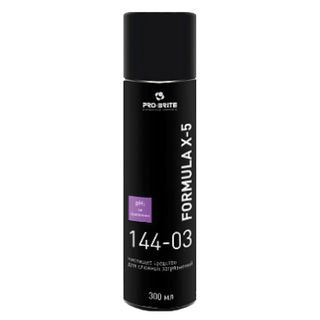 Means for removing traces of scotch tape, labels, chewing gum 300 ml, PRO-BRITE FORMULA X-5, aerosol