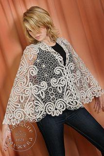 Pelerine women's lace С1825