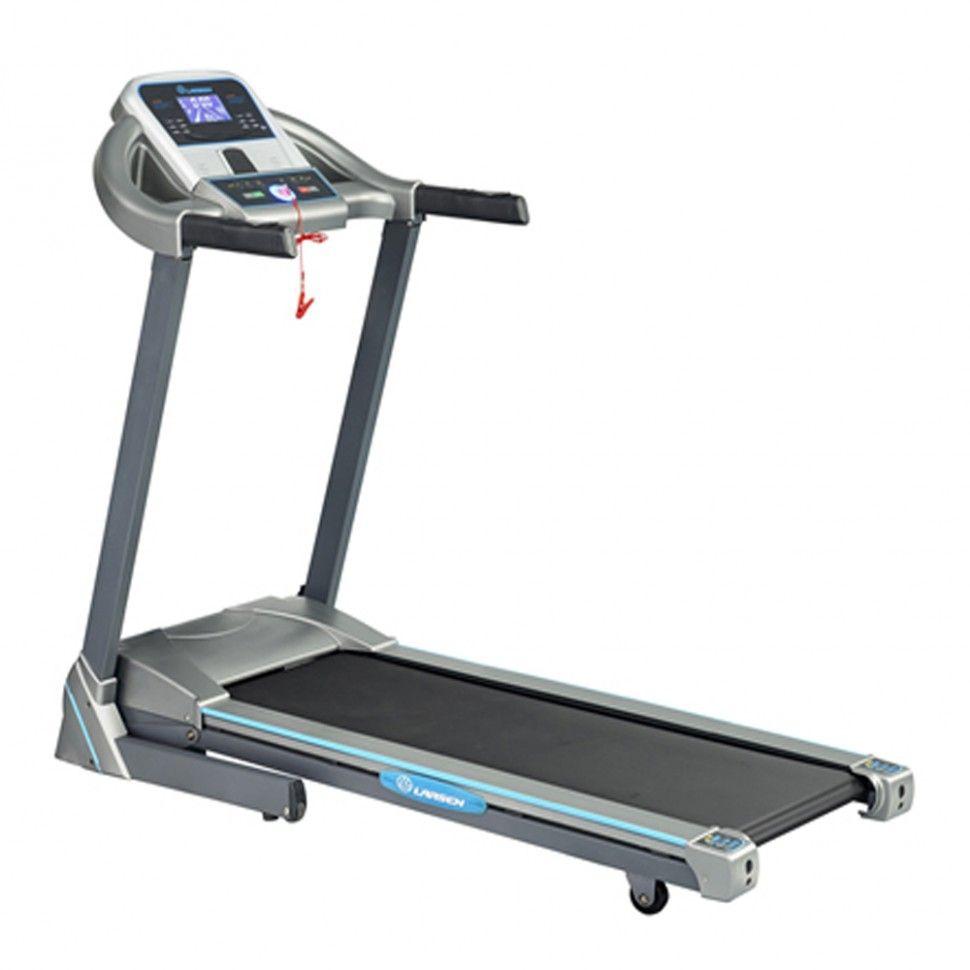 MB Barbell / Electric treadmill Larsen Newtone E1500m (2.25 l / s, 1-16 km / h, fur cloth inclination, 110 kg