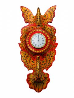 "Panel clock ""Doves"""