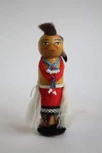 Doll gift. Warrior. Of the 20th century. USA.