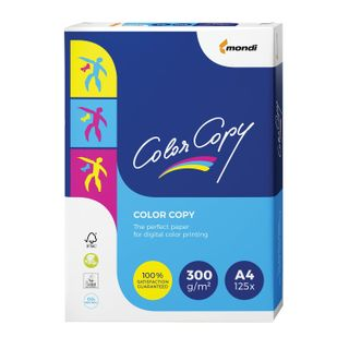 COLOR COPY / A4 paper, 300 gsm, 125 sheets, for full color laser printing, A ++, Austria, 161% (CIE)