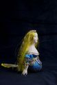 Doll gift porcelain. The little mermaid. Folklore character. - view 1