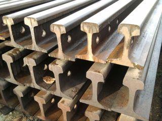 Railroad and crane rails