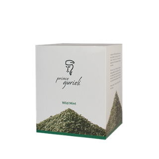 Prince Gurieli / Wild mint tea in pyramids 20 pcs. 40g each.