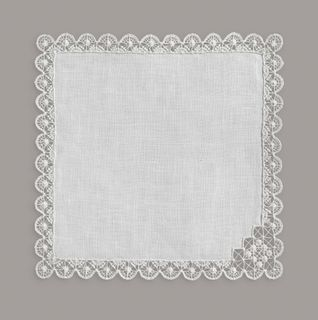 Linen decorative napkin